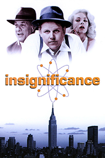 Insignificance Movie (1985) with Tony Curtis & Gary Busey